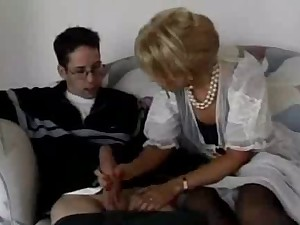 neighbour boyish man copulates his supreme fere older milf mamma