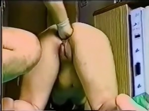 Japanese wife yielding fisted