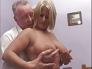 Huge ass anal blond