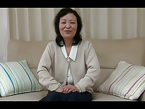 55yr previous Granny Kayoe Ozawa Squirts and Creamed (Uncensored)