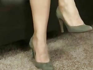 Older nylon basement tease