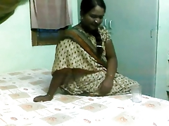 Marvelous Indian Aunty Drilled by Aged Man on Hidden Web camera